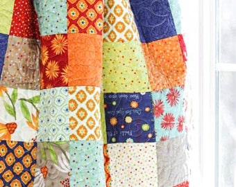 Baby Quilt - Crib Quilt - One for You One for Me - READY-2-SHIP - Homemade Quilts