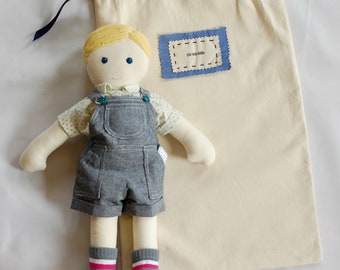 Little Brother Doll by Pie Box Dolls