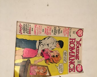february 1973 young romance comic book issue 191