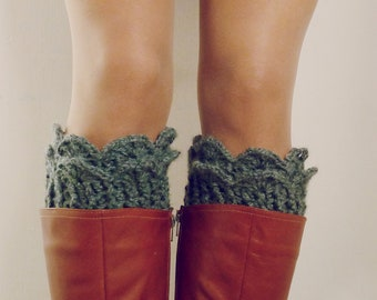 CROCHET PATTERN Boot Toppers crochet socks - Winter Accessory - Lucy Leg Warmers, boot socks, boot topper, boot cuff - Instant DOWNLOAD