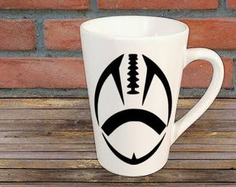 Football Sports Mug Coffee Cup Gift Home Decor Kitchen Bar Gift for Her Him Any Color Personalized Custom Jenuine Crafts