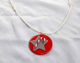 """My necklace """"Star and candy"""""""