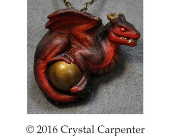 War Snarl - Collectible Dragon Art Ornament Necklace