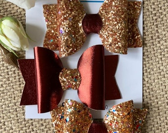 Gold Betty Bows