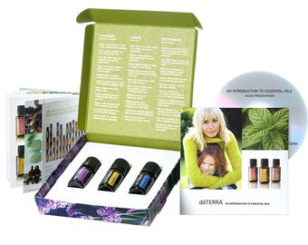 The Introductory Kit is a great starting point for those new to essential oils.