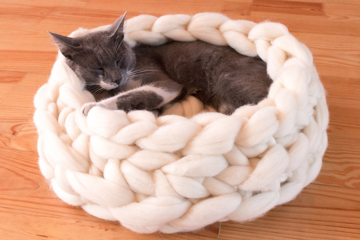 Knit Cat Bed Pattern Choice Image - handicraft ideas home decorating