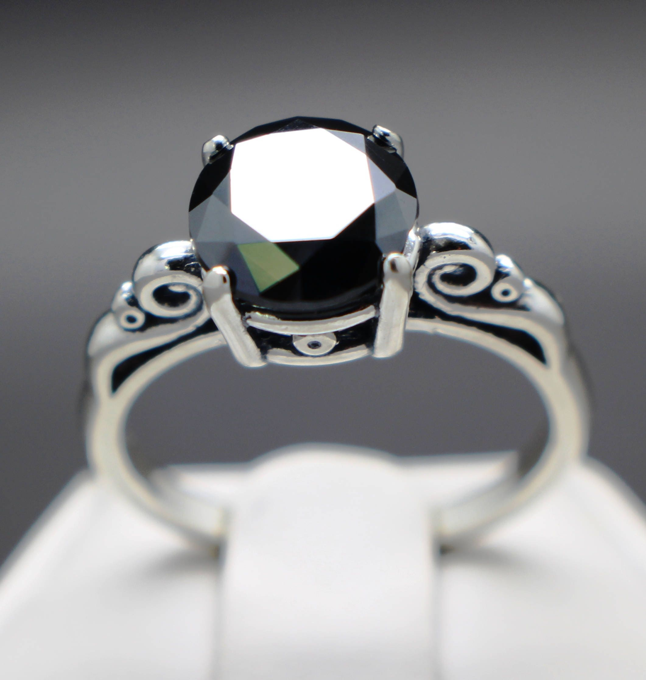 black natural size aaa certified graded and diamond il fullxfull scroll apprasied ring grade listing