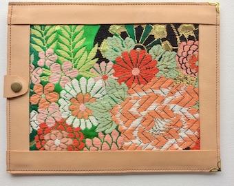 genuine leather case, iPad, Tablet, ereader. 20x25 cm