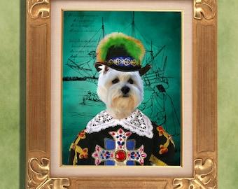 West Highland White Terrier Print Art Print 11 x 14 inch original illustration artwork giclee archival premium poster print ...