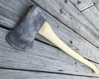 Plumb Victory axe with new 36 inch handle of American Hickory weighs 5 lbs