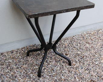 Tolix vintage bistro table