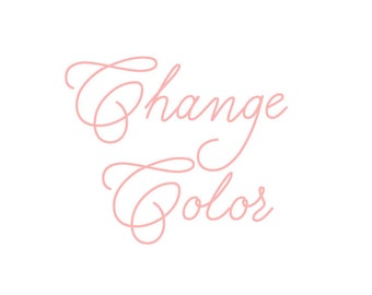 Change Colors
