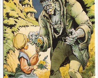 1994 Mike Ploog Collector Card GENTLE GIANT Classic