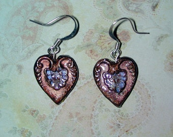 Sweetheart Valentines Day Heart Earrings