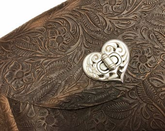 Leather Hip Bag, hand made.