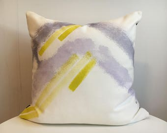 Jade 2R - Hand Painted / Hand Crafted Accent Cushion Cover