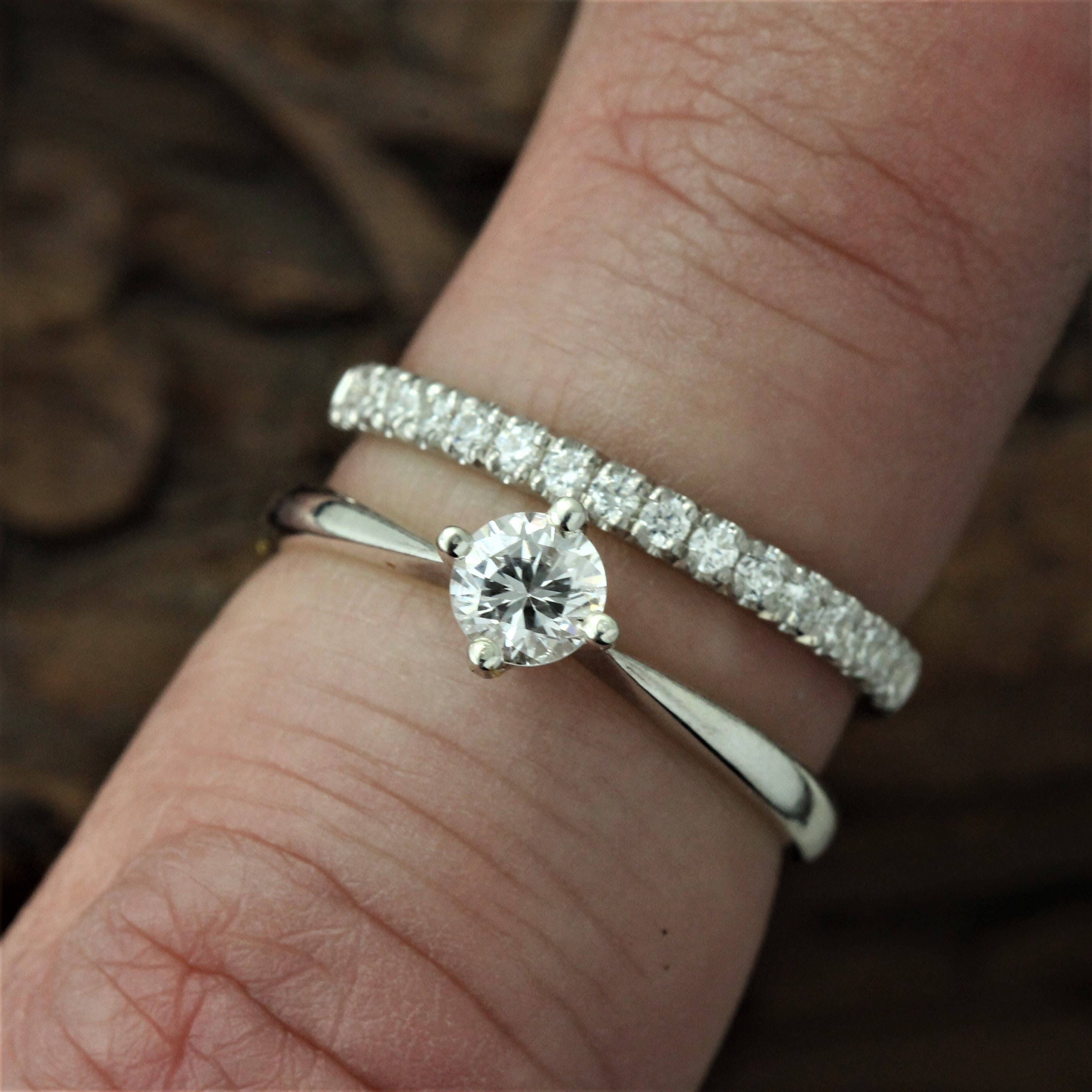 il band diamond collection laurie bands with full and crescent sarah designs white stars gold product moon celeste wedding fullxfull