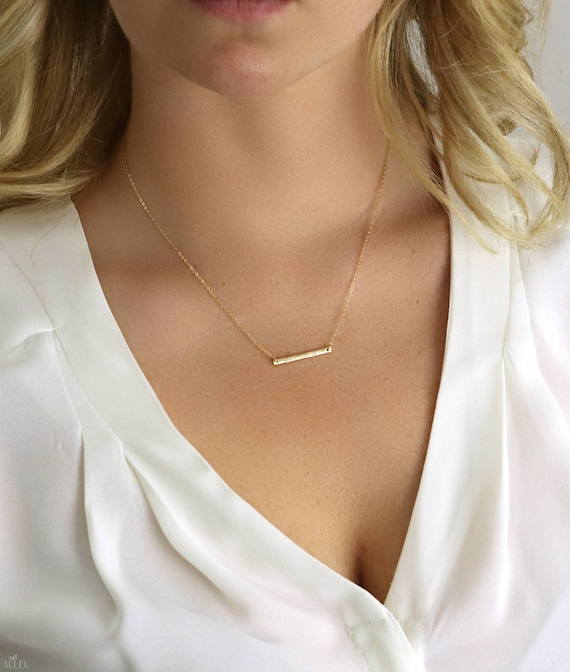 bella bead p simple from everyday silver dainty annika layering sterling necklace minimal