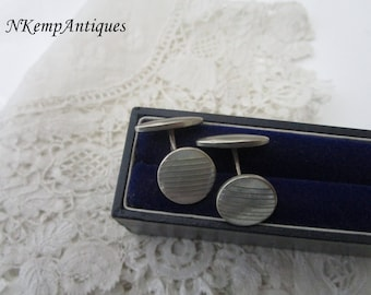 Cufflinks Mother of pearl 1930's