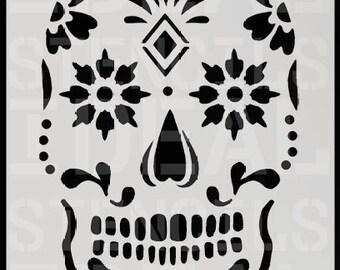 Zucker Skull Schablone, Home Decorating Schablone Lackieren U0026 Dekorieren  Wände, Skull Wall