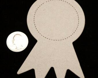 3 Award Ribbon Chipboard Diecuts
