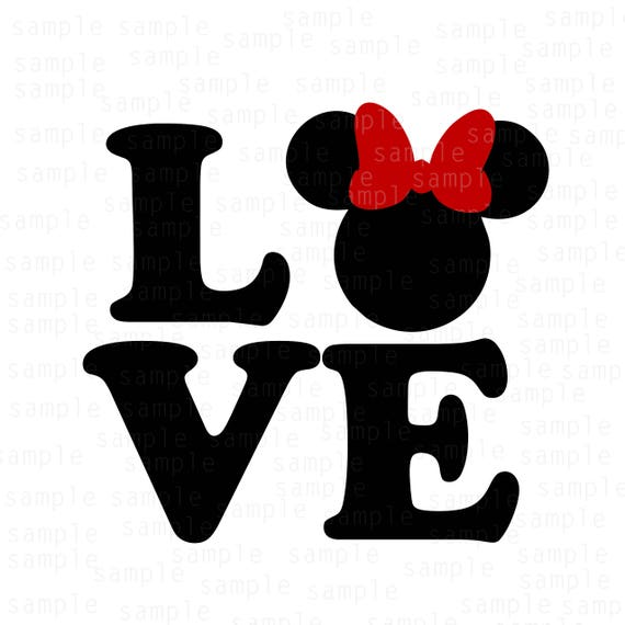 Download Disney Love SVG, Mickey svg, Minnie svg, love svg ...