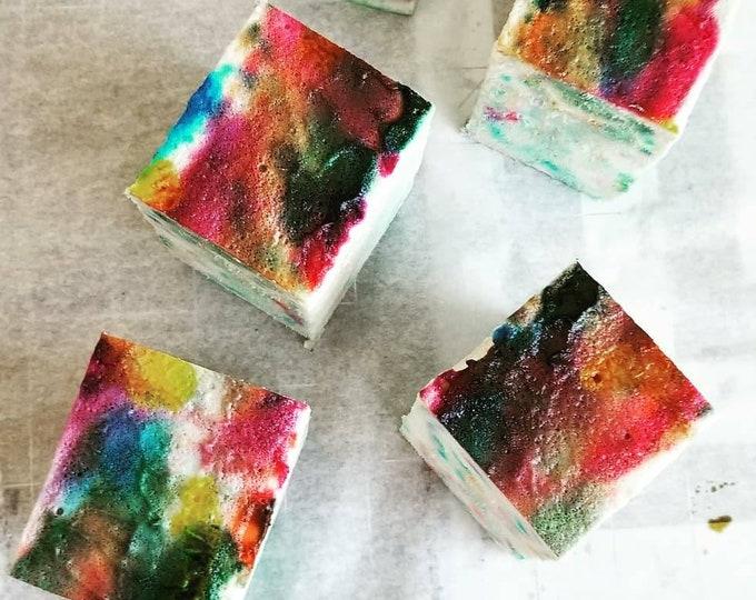dope marshmallow cream bath cube