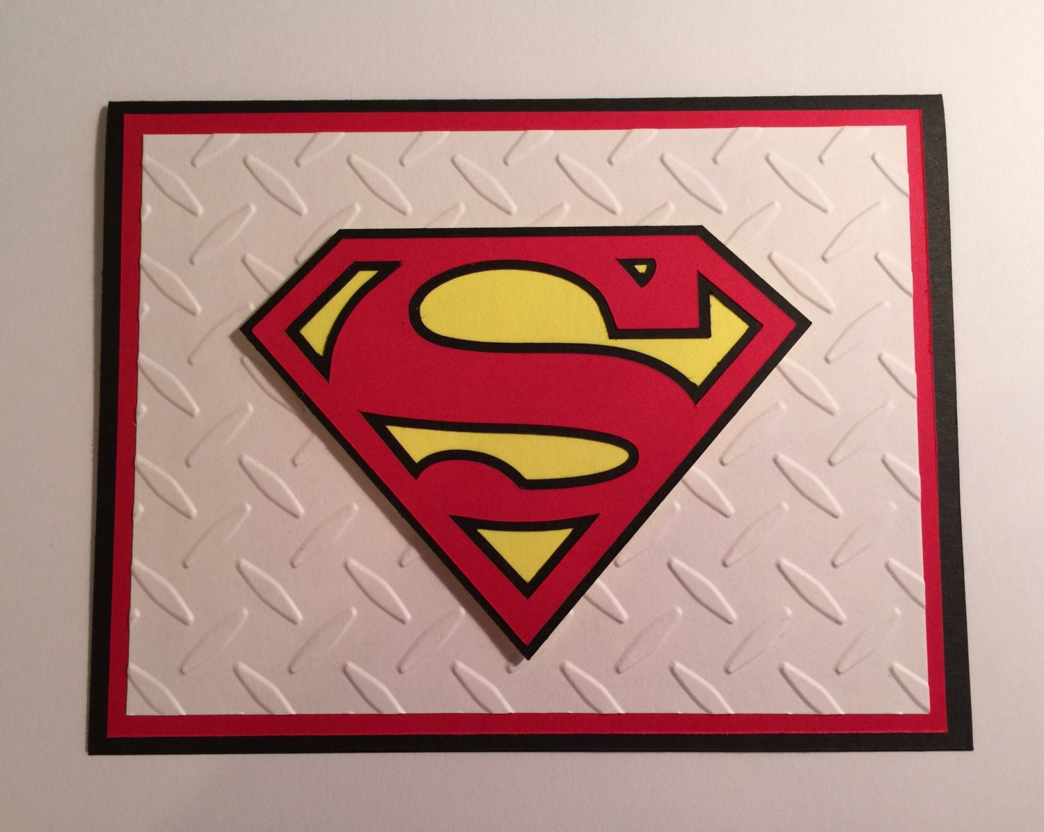 Handmade superman birthday card bookmarktalkfo Image collections