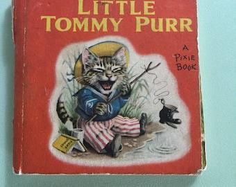 vintage children's hardback book