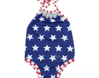 Patriotic swimsuit