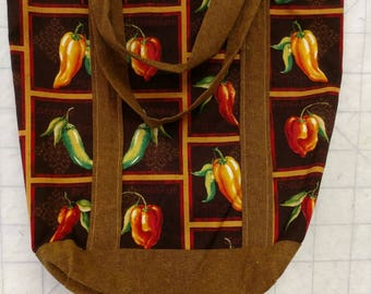 Chile Pepper Tote Bag