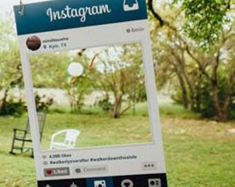 Photobooth Wedding Personalized selfie frame
