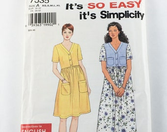 Simplicity Dress Sewing Pattern 7535
