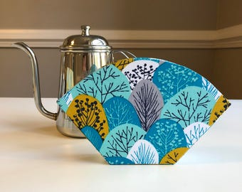 Handmade Fabric Coffee Filter Case #1