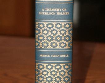 Vintage A Treasury of Sherlock Holmes by Sir Arthur Conan Doyle