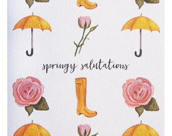 Springy Salutations