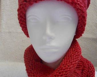 Luxury wool cowl.