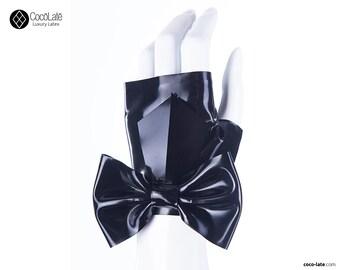 Fingerless Wrist Gloves W/ Big Bow