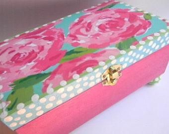 Bridesmaid Jewelry Boxes-Lilly Jewelry Box-Bridesmaid gift-Girls Jewelry Bow-Kids jewelry box-Kids trinket box-keepsake box