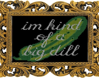 Big Dill - Cross Stitch Pattern - Instant Download