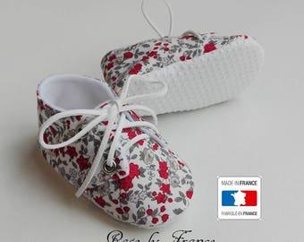 SALE! Liberty baby red soles slip