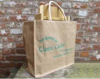 Drum Carder Carrying Bag - strong jute bag