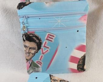 Elvis Crossbody Handbag w/adj strap