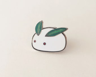 Snow Bunny Pin