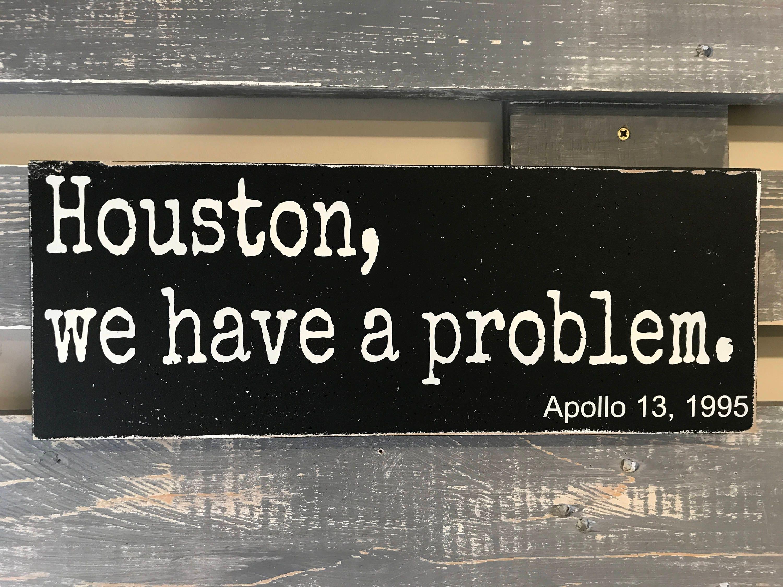 Houston wir haben ein Problem Apollo 13 Film Zitat
