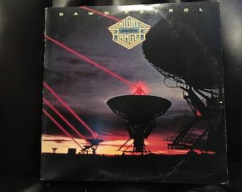 1982 Dawn Patrol Night Ranger Vinyl Record Excellent Condition