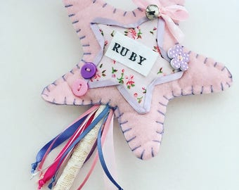 PERSONALISED STAR WAND