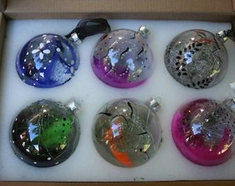 Ball Christmas glass