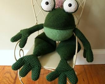 Frog Crocheted Stuffed Toy