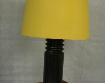 Vintage Swedish ceramic table light by Luxus